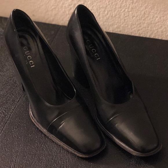 a8d827fd826 Gucci Shoes - Vintage Gucci black dress shoes